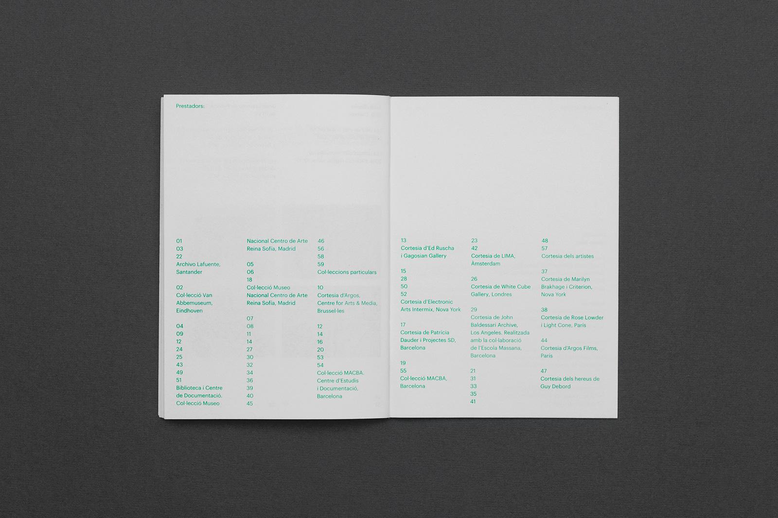 Todojunto - Legible Visible - Exhibition booklet