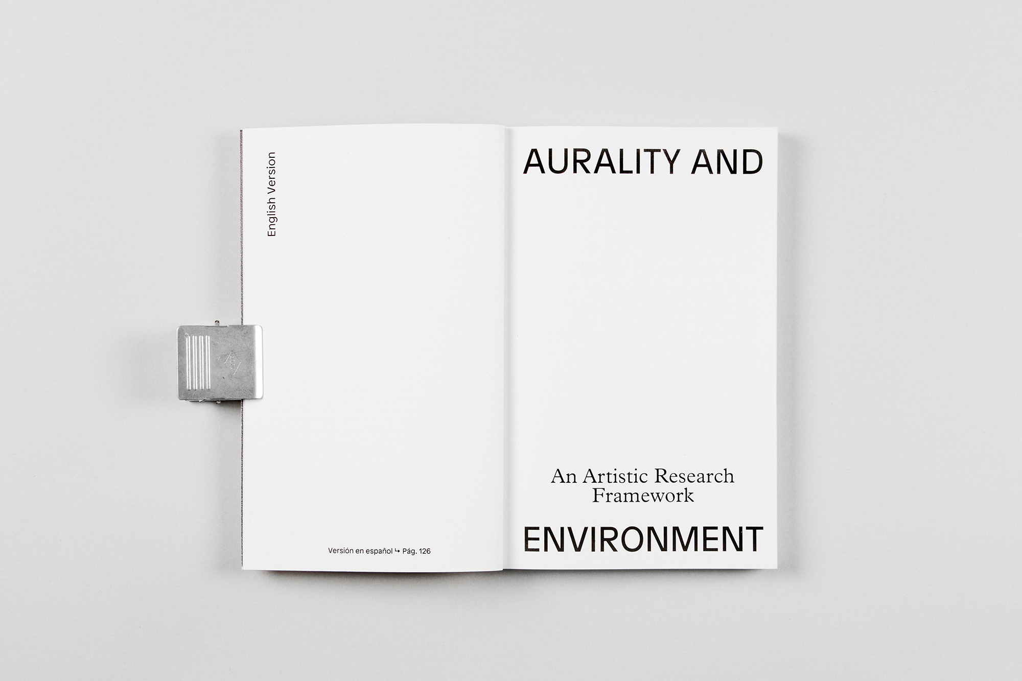Todojunto — Aurality and Environment - Publication